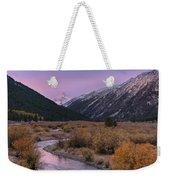 Wildhorse Creek Autumn Sunrise Weekender Tote Bag