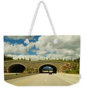 Wildlife Crossing Weekender Tote Bag