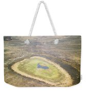 Wildlife Gathers In The Flooded Pans Weekender Tote Bag