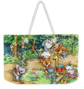 Wildlife Party Weekender Tote Bag