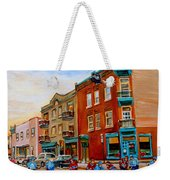 Wilensky's Street Hockey Game Weekender Tote Bag