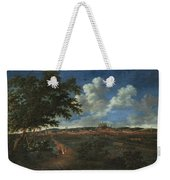 Wilhelm Von Bemmel A Panoramic View Of Nuremburg With Riders In The Foreground Weekender Tote Bag