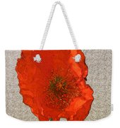Will The Poppy In The Back Please Stand Up Weekender Tote Bag