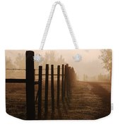 Will They Be Mist Weekender Tote Bag