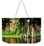 Willamette River Reflections 3783 Weekender Tote Bag