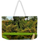 Willamette River Reflections 3813 Weekender Tote Bag
