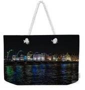 Willemstad Curacao At Night Weekender Tote Bag