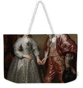 William II, Prince Of Orange, And His Bride, Mary Stuart Weekender Tote Bag