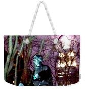 William Seward Statue And Empire State Bldg With Trees Weekender Tote Bag