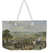 William Simpson, 1823-1899, Nilitary Camp Weekender Tote Bag