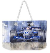 Williams Bmw Fw24 2002 Juan Pablo Montoya Weekender Tote Bag