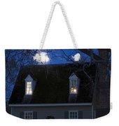 Williamsburg House In Moonlight Weekender Tote Bag