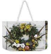Williamsburg Wreath 09b Weekender Tote Bag