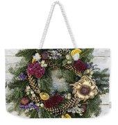 Williamsburg Wreath 10b Weekender Tote Bag