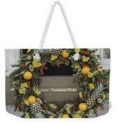 Williamsburg Wreath 18 Weekender Tote Bag