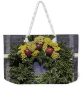 Williamsburg Wreath 25 Weekender Tote Bag