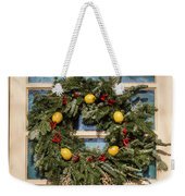 Williamsburg Wreath 37 Weekender Tote Bag