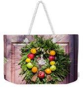 Williamsburg Wreath 53 Weekender Tote Bag