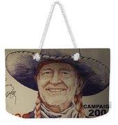 Willie For President Weekender Tote Bag