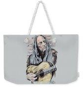 Willie Nelson Weekender Tote Bag