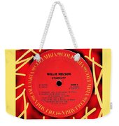 Willie Nelson Stardust Lp Label Weekender Tote Bag