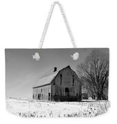 Willow Barn Bw Weekender Tote Bag