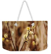Willow Catkins Weekender Tote Bag