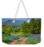 Willow City Road Weekender Tote Bag