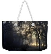 Willow In Fog Weekender Tote Bag
