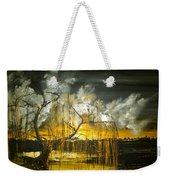 Willow On The Shore Weekender Tote Bag