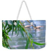 Willow Over The Water Weekender Tote Bag