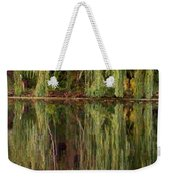 Willow Reflection Weekender Tote Bag