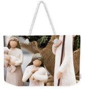 Willow Tree Nativity At Christmas Weekender Tote Bag