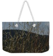 Willows In Snow Weekender Tote Bag