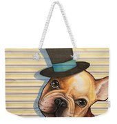 Willy In A Top Hat Weekender Tote Bag