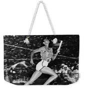 Wilma Rudolph (1940-1994) Weekender Tote Bag by Granger