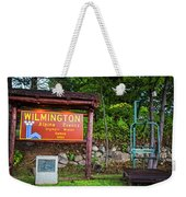Wilmington Ny Alpine Events Olympic Winter Games 1980 Ski Lift Weekender Tote Bag