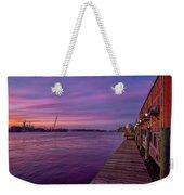 Wilmington Waterfront Weekender Tote Bag