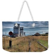 Wilsall Grain Elevators Weekender Tote Bag