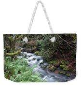 Wilson Creek #14 With Added Cedar Waxwing Weekender Tote Bag