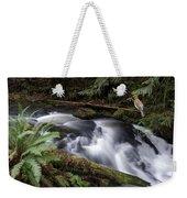 Wilson Creek #18 With Added Cedar Waxwing Weekender Tote Bag