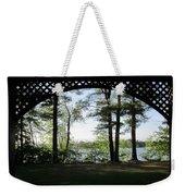 Wilson Pond Framed Weekender Tote Bag