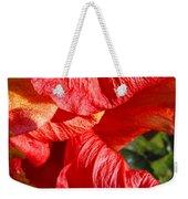 Wilting Hibiscus Two Weekender Tote Bag
