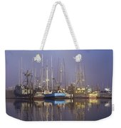 Winchester Bay Fishing Boats Weekender Tote Bag