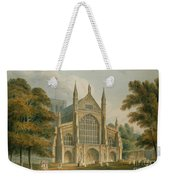 Winchester Cathedral Weekender Tote Bag by John Buckler