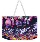 Wind And Waves Weekender Tote Bag by Carol  Law Conklin