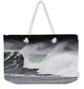 Wind And Waves In Oregon Weekender Tote Bag