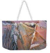 Wind Blown Sand Texture Weekender Tote Bag