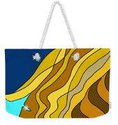 Wind Goddess Weekender Tote Bag