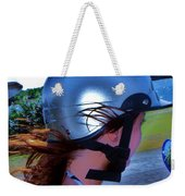 Wind In The Hair Weekender Tote Bag